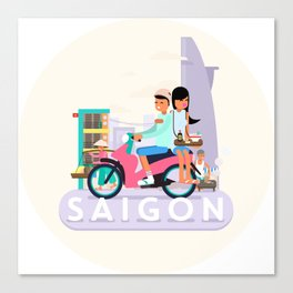 SAIGON Canvas Print