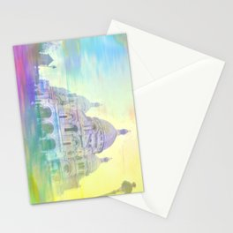 EXPLODING HEART Stationery Cards