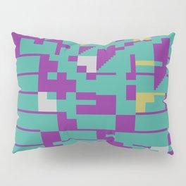 Abstract 8 Bit Art Pillow Sham