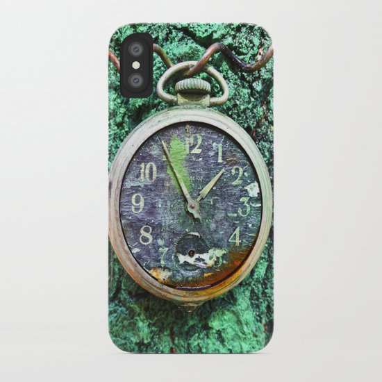 Green Time iPhone Case