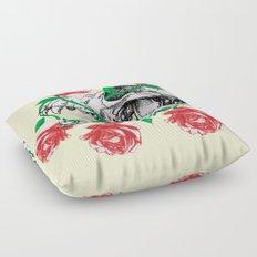Deathvslife1 Floor Pillow