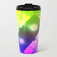 Urban Psychedelic Lights Metal Travel Mug