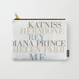 Kickass Heroines - Me Carry-All Pouch