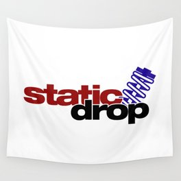 Static drop v4 HQvector Wall Tapestry