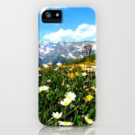 Summer in the Alps iPhone Case