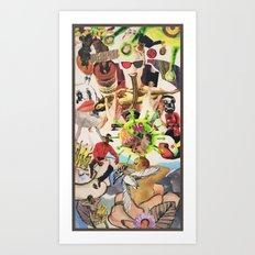 PLANET 6 Art Print
