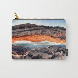 """""""Sunrise Glow"""" Carry-All Pouch"""