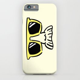 Too Cool (yellow) iPhone Case