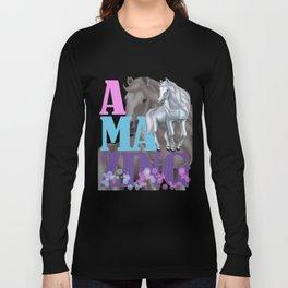 Horses Amazing Creatures Perfect Gift T-Shirt Long Sleeve T-shirt