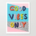 Check it - good vibes happy smiles fun modern memphis throwback art 1980's 80's 80s 1980s 1980 neon  by wacka