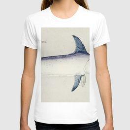 Antique Sword fish drawn by Fe Clarke (1849-1899) T-shirt