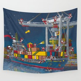 Christmas reshipped Wall Tapestry