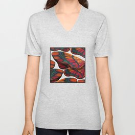 """A thousand colors of butterfly wings"" Unisex V-Neck"
