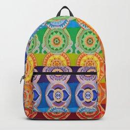 SEVEN CHAKRA SYMBOLS OF HEALING ART Backpack