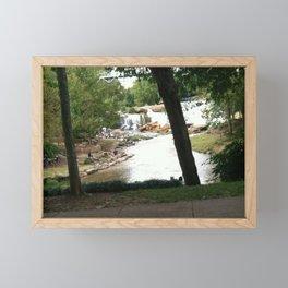 Falls Park Greenville SC Framed Mini Art Print