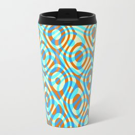 Mixed Polyps Orange - Coral Reef Series 038 Travel Mug