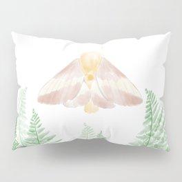Rosy Maple Moth Pillow Sham