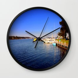 Thompson River - Paynesville - Australia Wall Clock