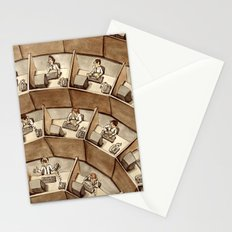 The Rings of Cubicle Hell Stationery Cards