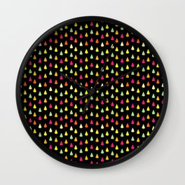 Lemon Drops Wall Clock