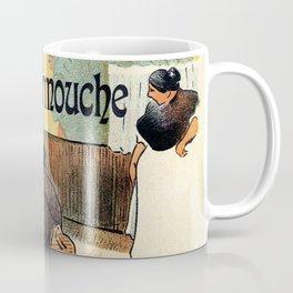 L'Escarmouche Vintage French bar scene Coffee Mug