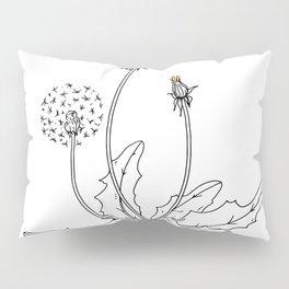 Dandelion Bloom Pillow Sham