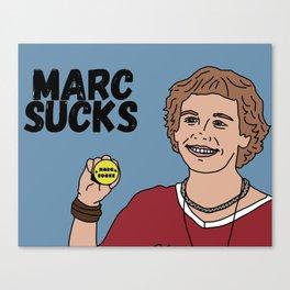 Marc Sucks Canvas Print