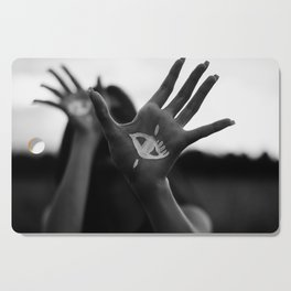 Seeing is Touching - Wide Cutting Board