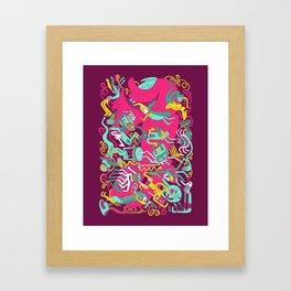 Party On! Framed Art Print