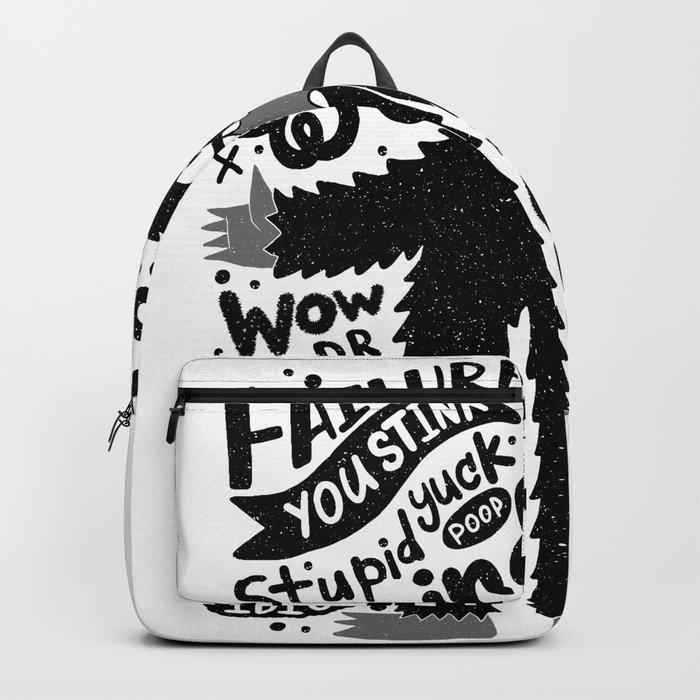 internal monologue Backpack