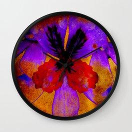 Lilac fusion Wall Clock