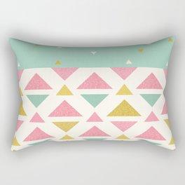 Mint & Strawberry Cream Chips Rectangular Pillow