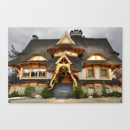 Polish Mountain House Canvas Print