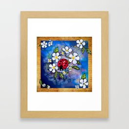 Ladybugs_1 Framed Art Print