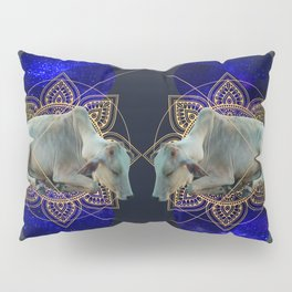 Inde Cosmologique I Pillow Sham