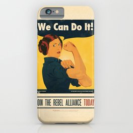 Leia the Riveter 2: The Alliance Strikes Back iPhone Case