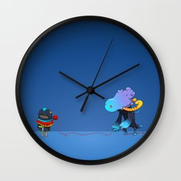 Thread Troll Wall Clock
