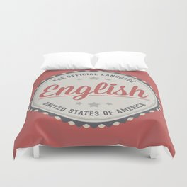The Official Language Duvet Cover