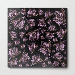 Purple Maple Metal Print
