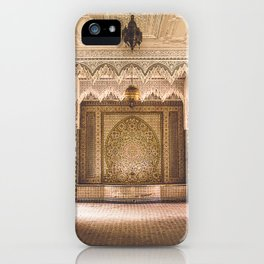 Marrakech Artisan Palace iPhone Case
