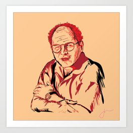 George. Art Print