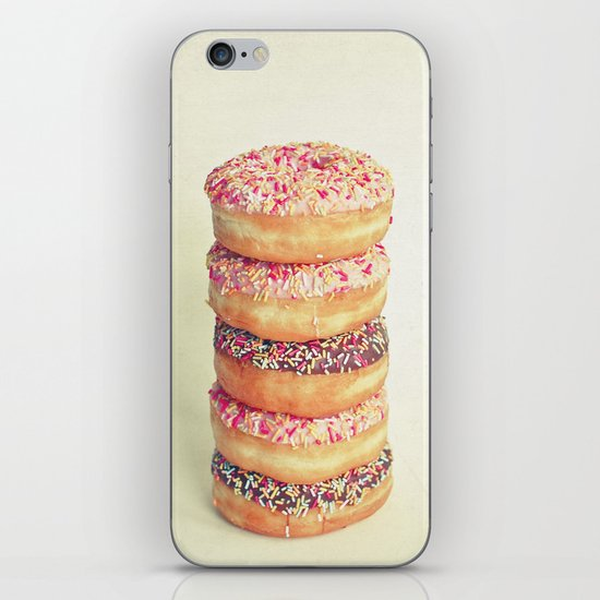 Stack of Donuts iPhone & iPod Skin