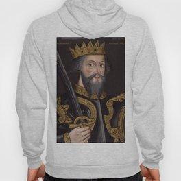 Vintage William The Conqueror Portrait Hoody
