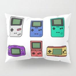 Evolution of Gameboy Pillow Sham