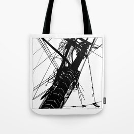 Wires #2 Tote Bag