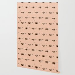 Pattern Cut Wallpaper
