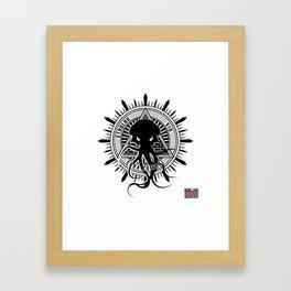 Cthulhu viu essa zoeira! Framed Art Print