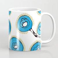 classy Mugs featuring Classy by Gosia&Helena