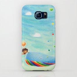 Rainbow tears iPhone Case