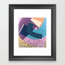 to make a point Framed Art Print